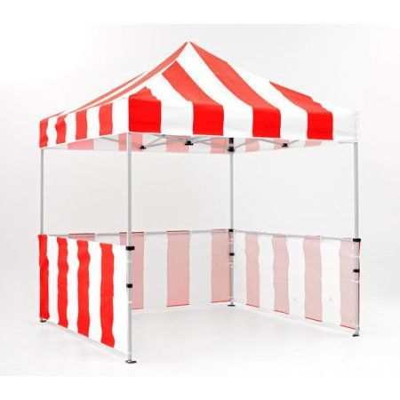Impact Canopy Carnival 8x8 ft. Pop Up Canopy Tent Vendor Booth With Sidewalls and Skirts | D 8. and Instant canopy  sc 1 st  Pinterest & Impact Canopy Carnival 8x8 ft. Pop Up Canopy Tent Vendor Booth ...