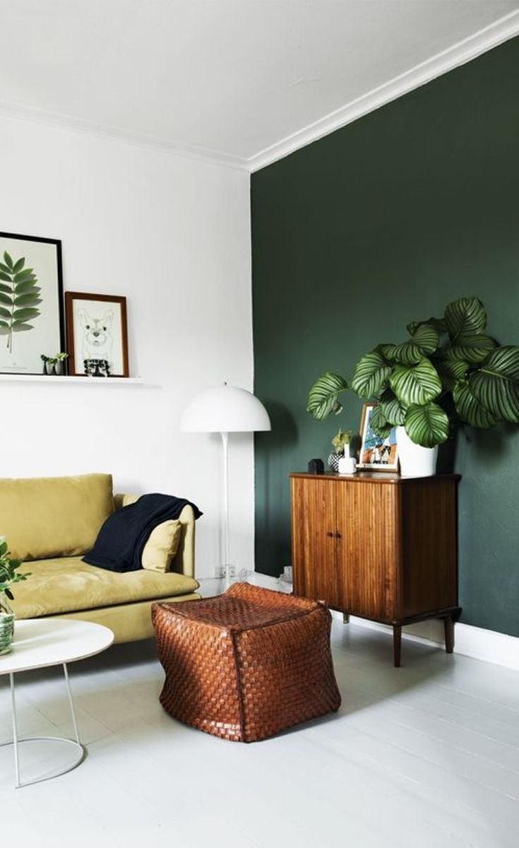 How To Decorate A Plain Living Room