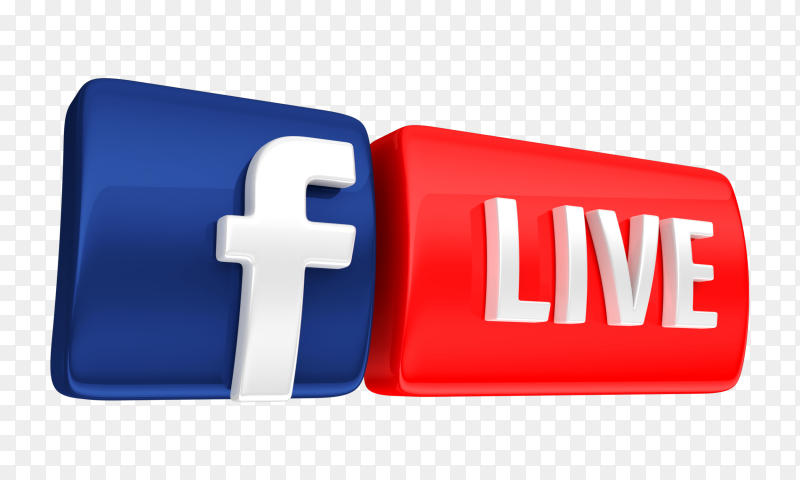 3d Facebook Live Icon Transparent Png In 2021 Logo Facebook Instagram Logo Facebook Live