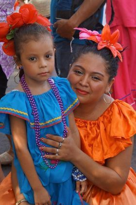 Las Practicas Celebrating In Leon Nicaragua The Dress Code Most Areas Of Is To Wear Cool Clothing Because It Warm Here