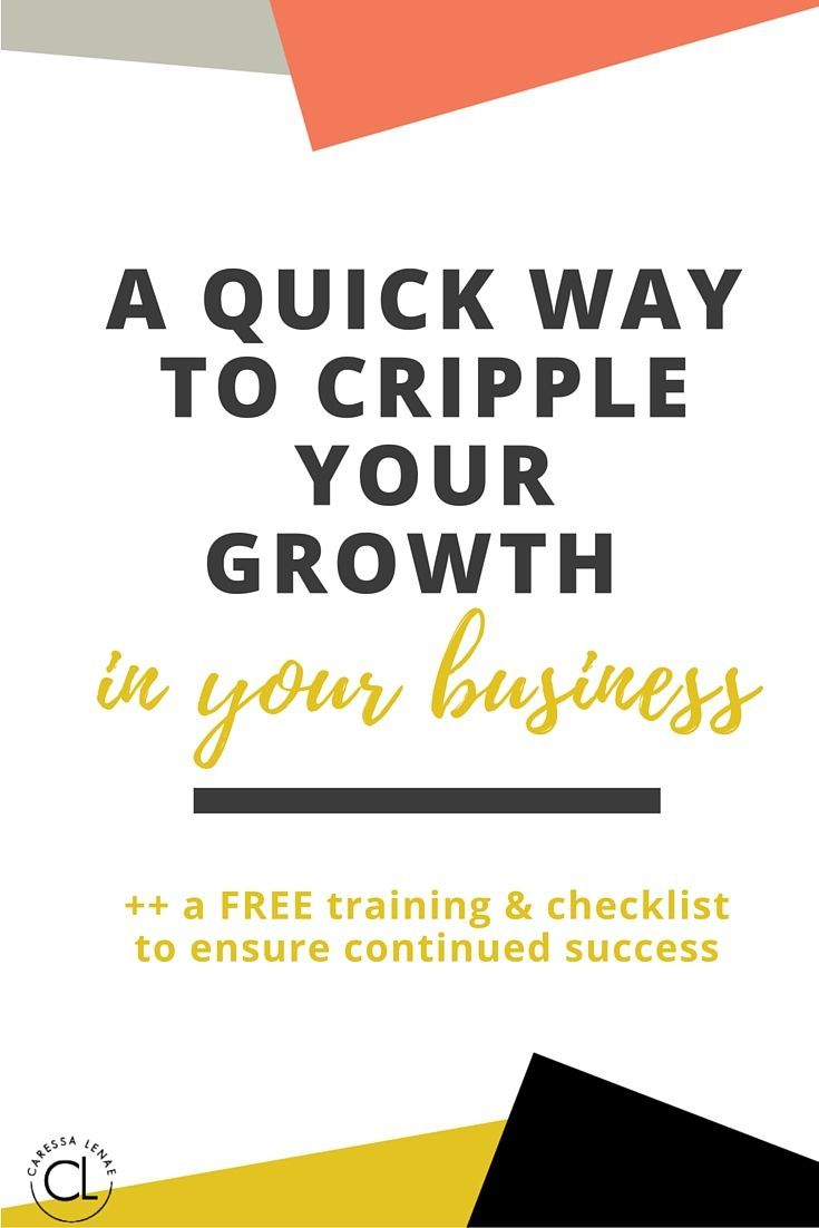A Quick Way To Cripple Your Growth In Your Business How To
