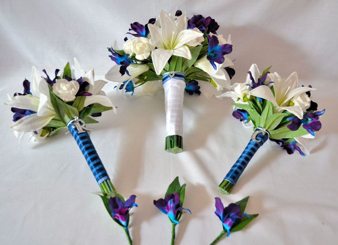 Wedding Flower Packages Examples Of Silk Sets