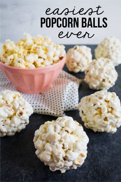 Easiest Ever Popcorn Balls Recipe
