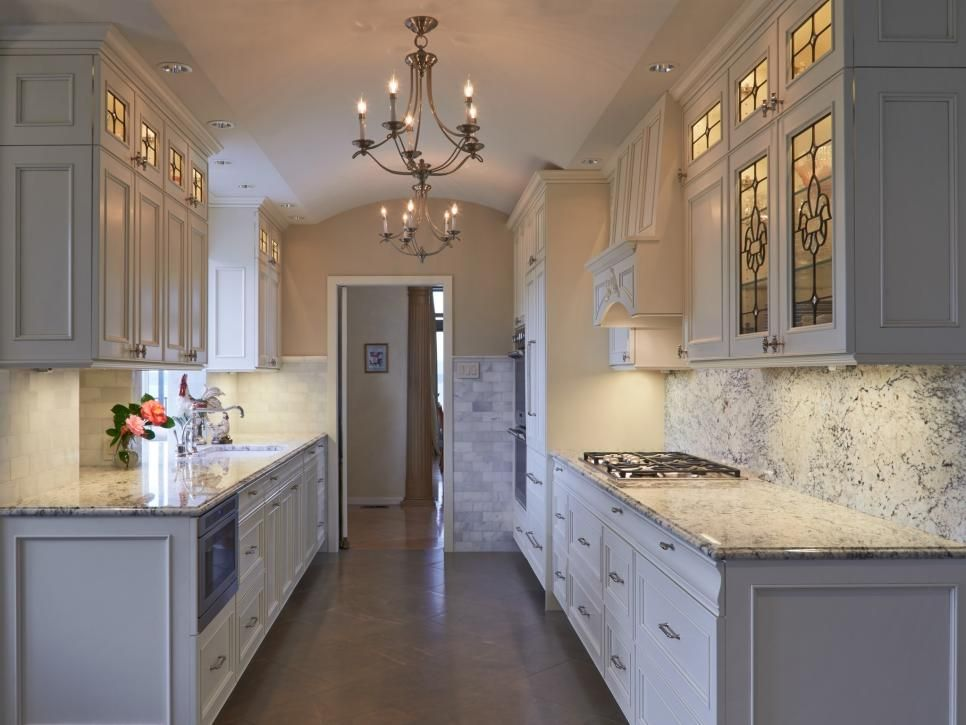 15 But Glam Cabinet Updates For Kitchens Galley Kitchen