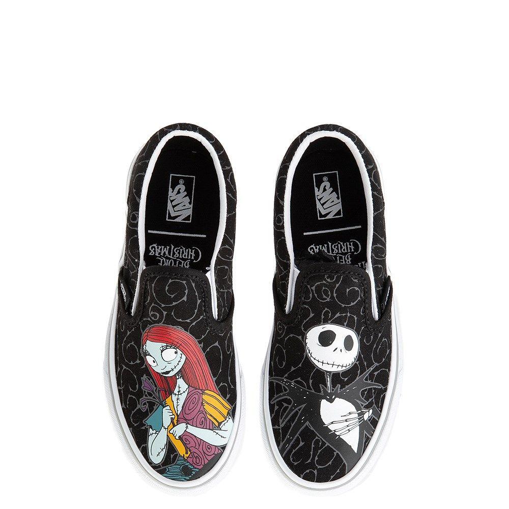 Vans X The Nightmare Before Christmas Slip On Jack Sally Skate Shoe Little Kid Big Kid Journeys Kidz Vans Shoes Fashion Skate Shoes Vans