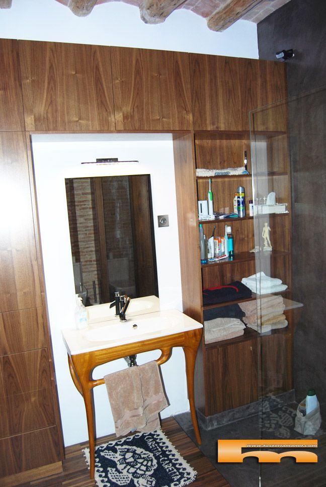 Proyecto Mueble Funcional Diseño De Mobiliario A Medida: Armarios_baño_diseño_madera_jose_Barcelona