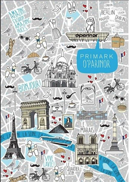 primark arrive en r gion parisienne the best illustrated. Black Bedroom Furniture Sets. Home Design Ideas