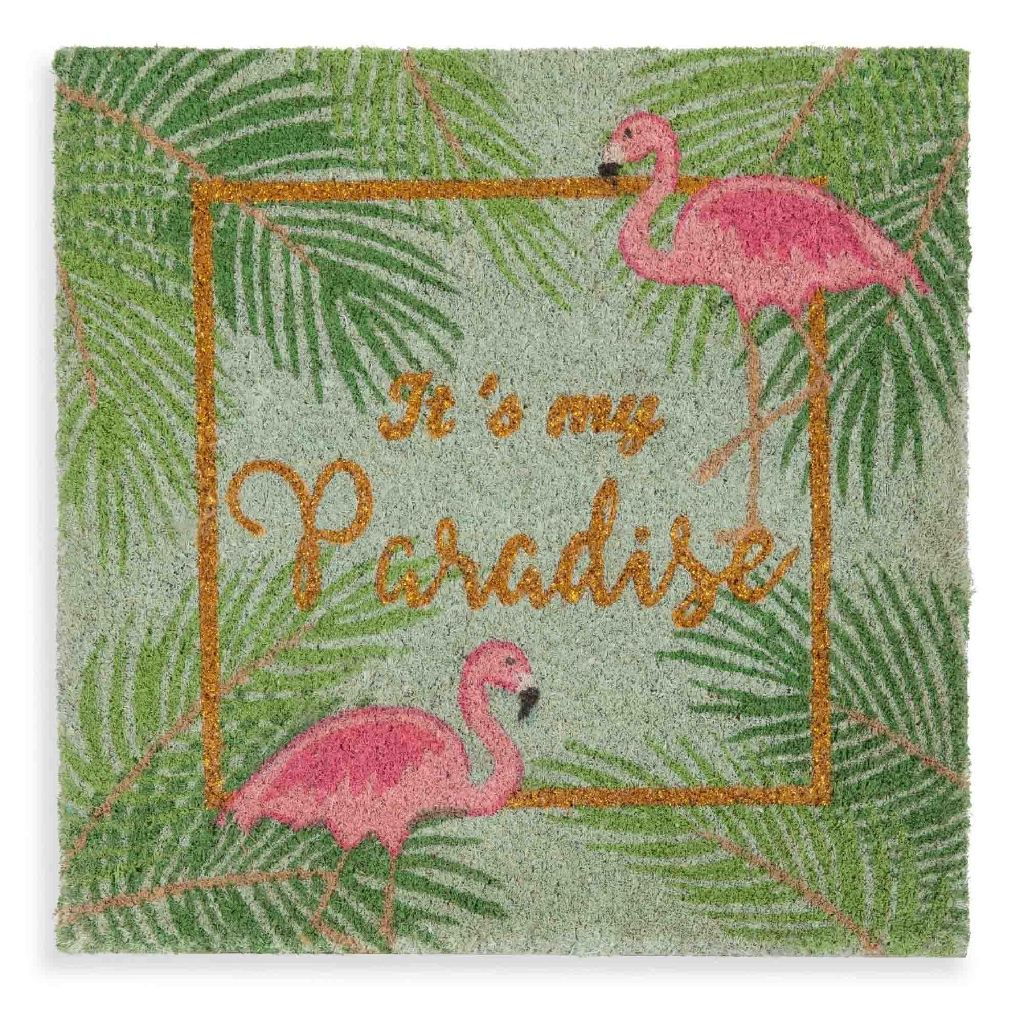 Paillasson Colore 45x45cm Flamingo Maisons Du Monde Wish List