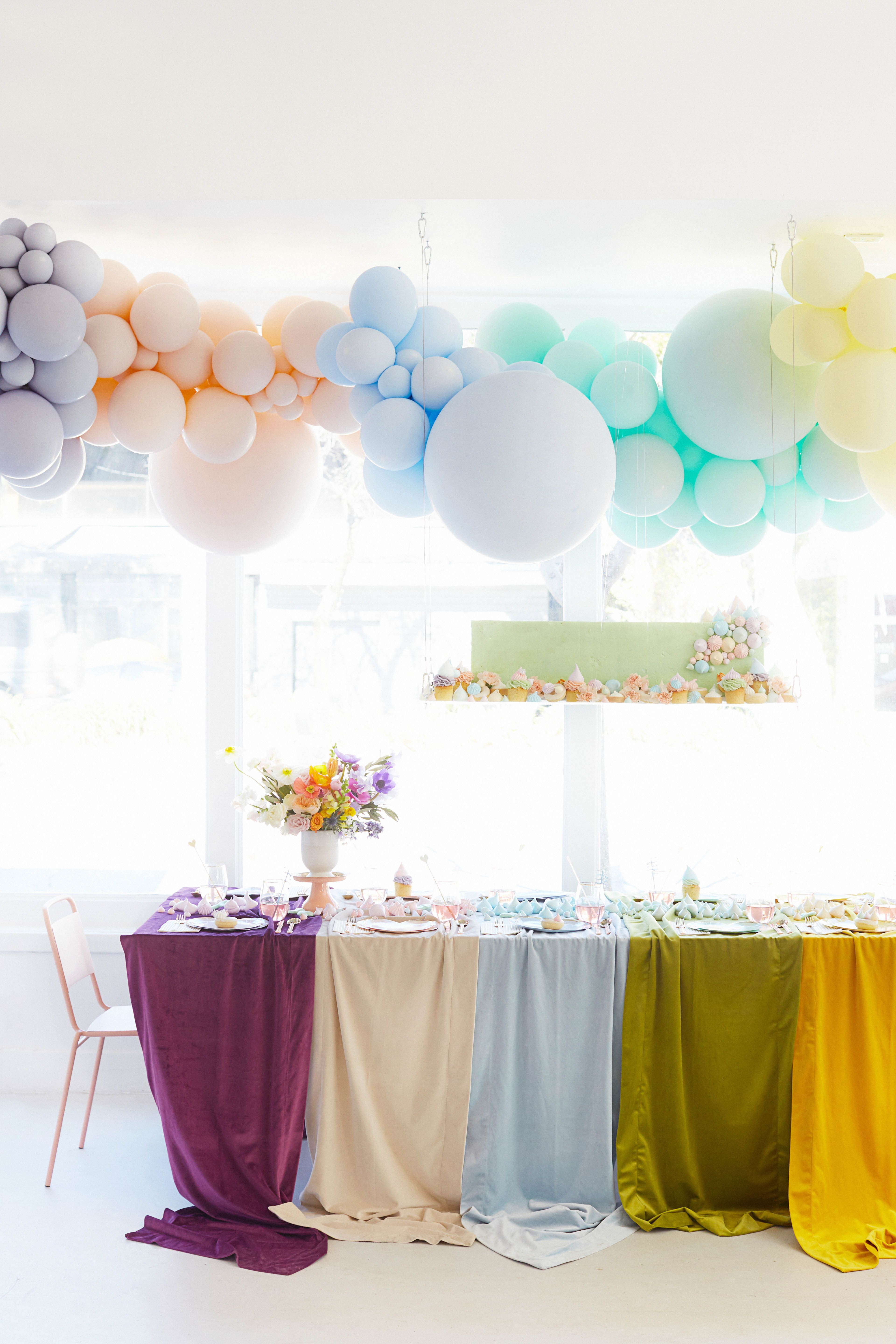 A Rainbow-Themed Baby Shower for One Mom-to-Be and Her ...