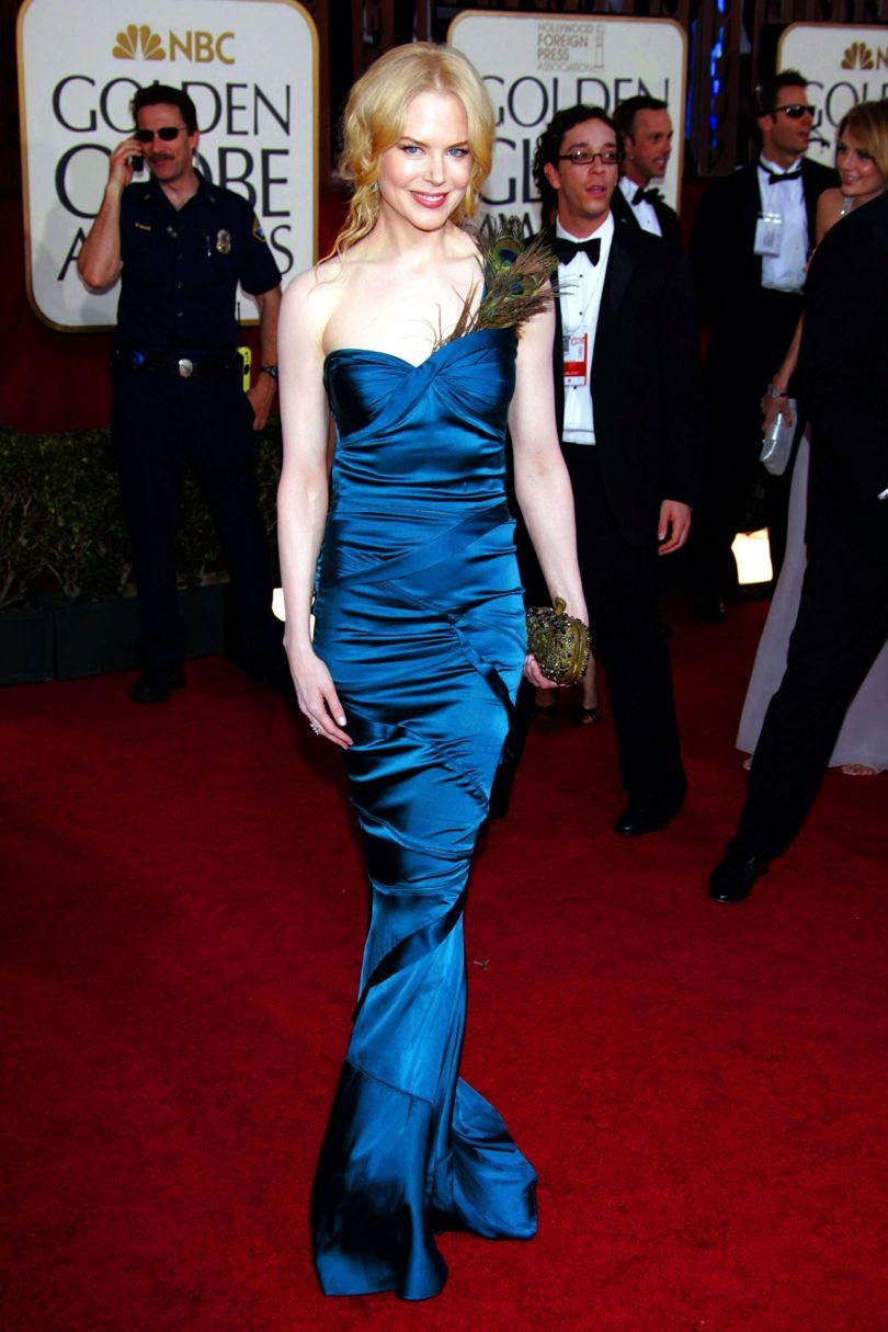 Nicole Kidman at Golden Globes 2005