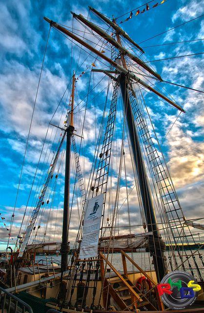 STV Unicorn TallShip Masts by Rodney Hickey Design Studio, via Flickr