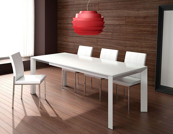 muebles mesa de comedor extensible helio mesas de comedor de diseo