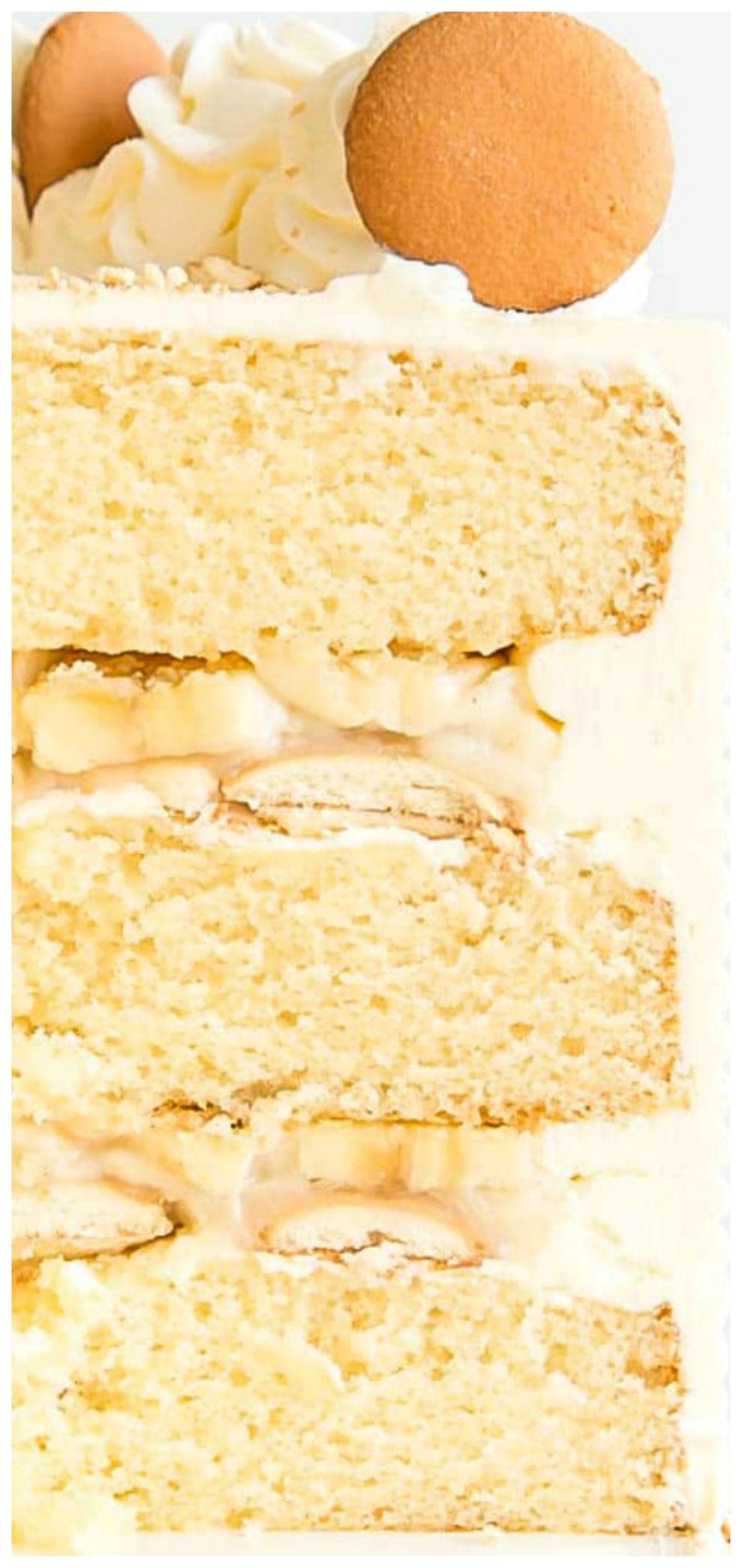 Banana pudding cake vanilla wafer recipe banana pudding