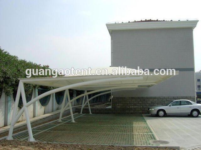 Source Membrane Roof Structure Car Parking Shed Car Awning Tent On M Alibaba Com Carport Designs Hotel Landscape Membrane Roof