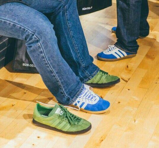 Adidas Athen and Ardwick on the street | Vintage adidas