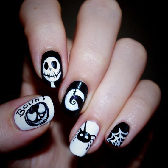 Newest And Creative Halloween Nail Art Designs 2019 ...