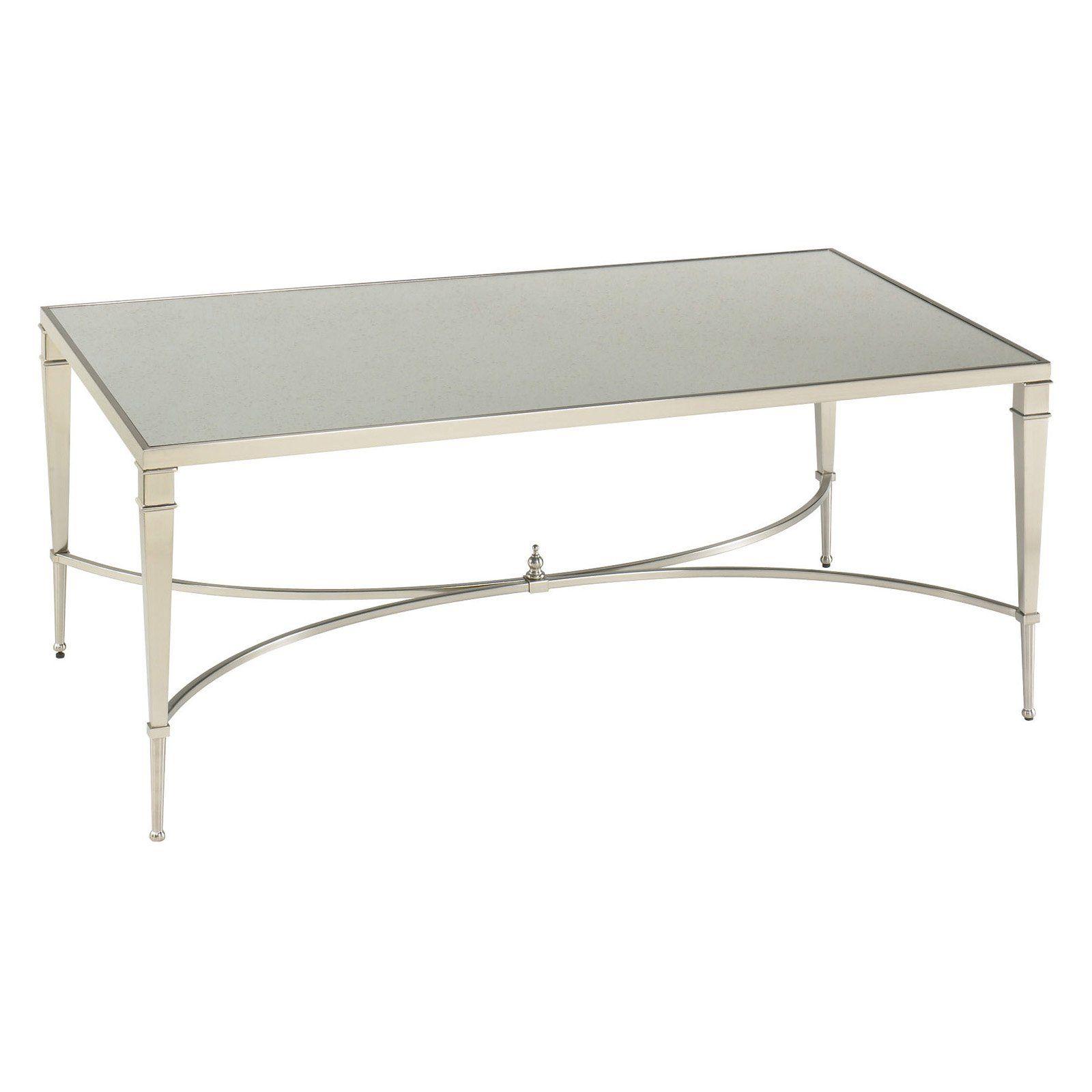 $450 Hayneedle Hammary Mallory Rectangular Coffee Table The