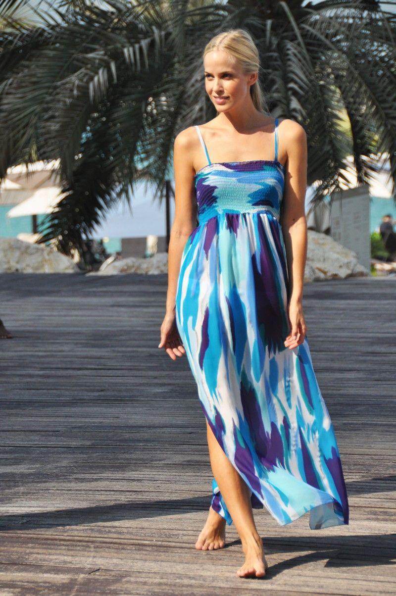 beach-maxi-dress- | Beach Maxi Dress | Pinterest | Sexy, Popular ...