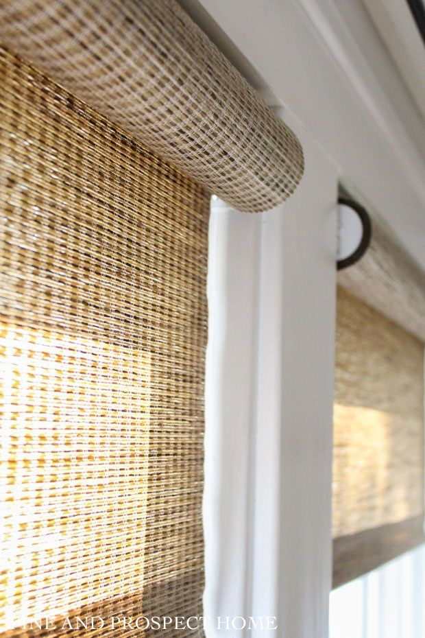 Woven Roller Shades The Perfect Window Covering Window
