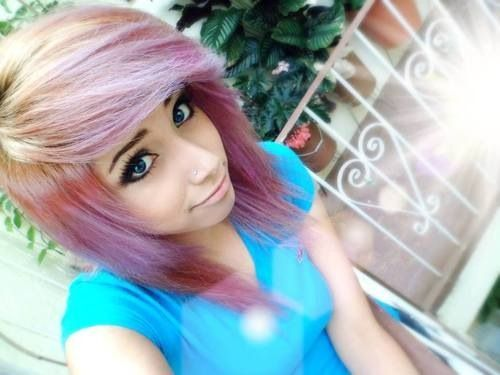 Colored Hair On Pinterest Scene Hair Coloured Hair And Hair Coloring