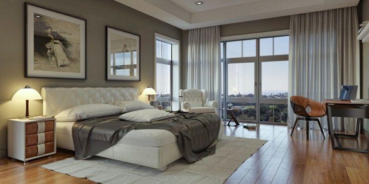 25 idées pour la chambre à coucher moderne de toute taille Future