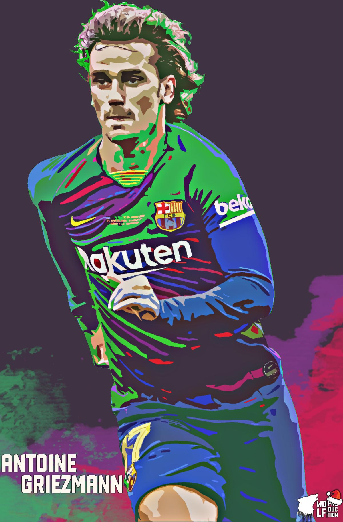 Antoine Griezmann Lockscreen In 2020 Antoine Griezmann Griezmann Soccer Stars