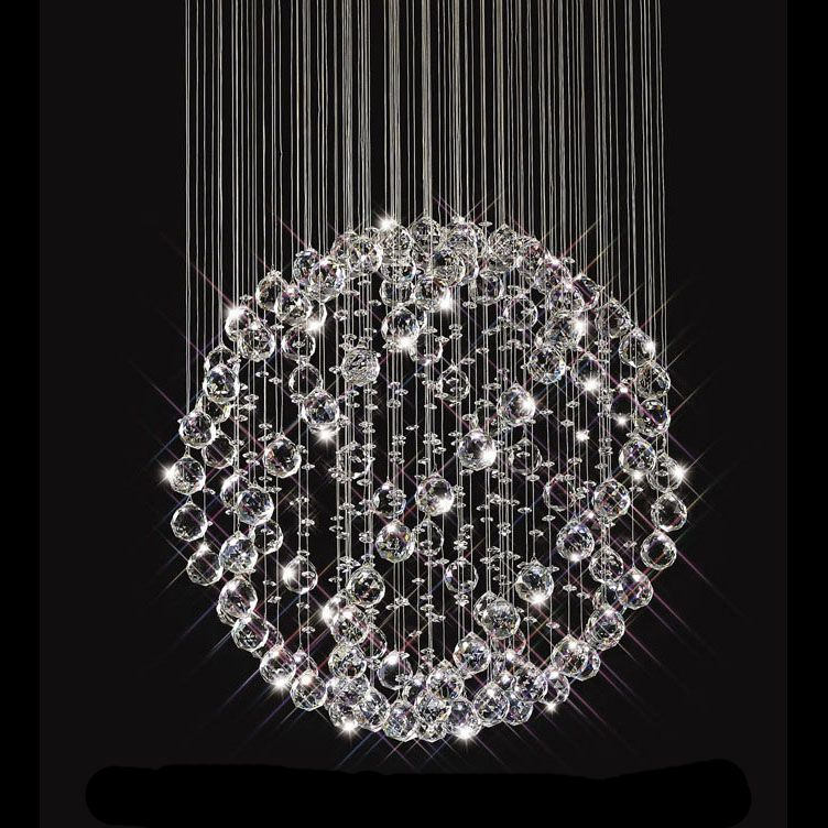 Sparkling Floating Crystal Ball Pendant Chandelier 3 Sizes Crystal Chandelier Pendant Chandelier Chandelier