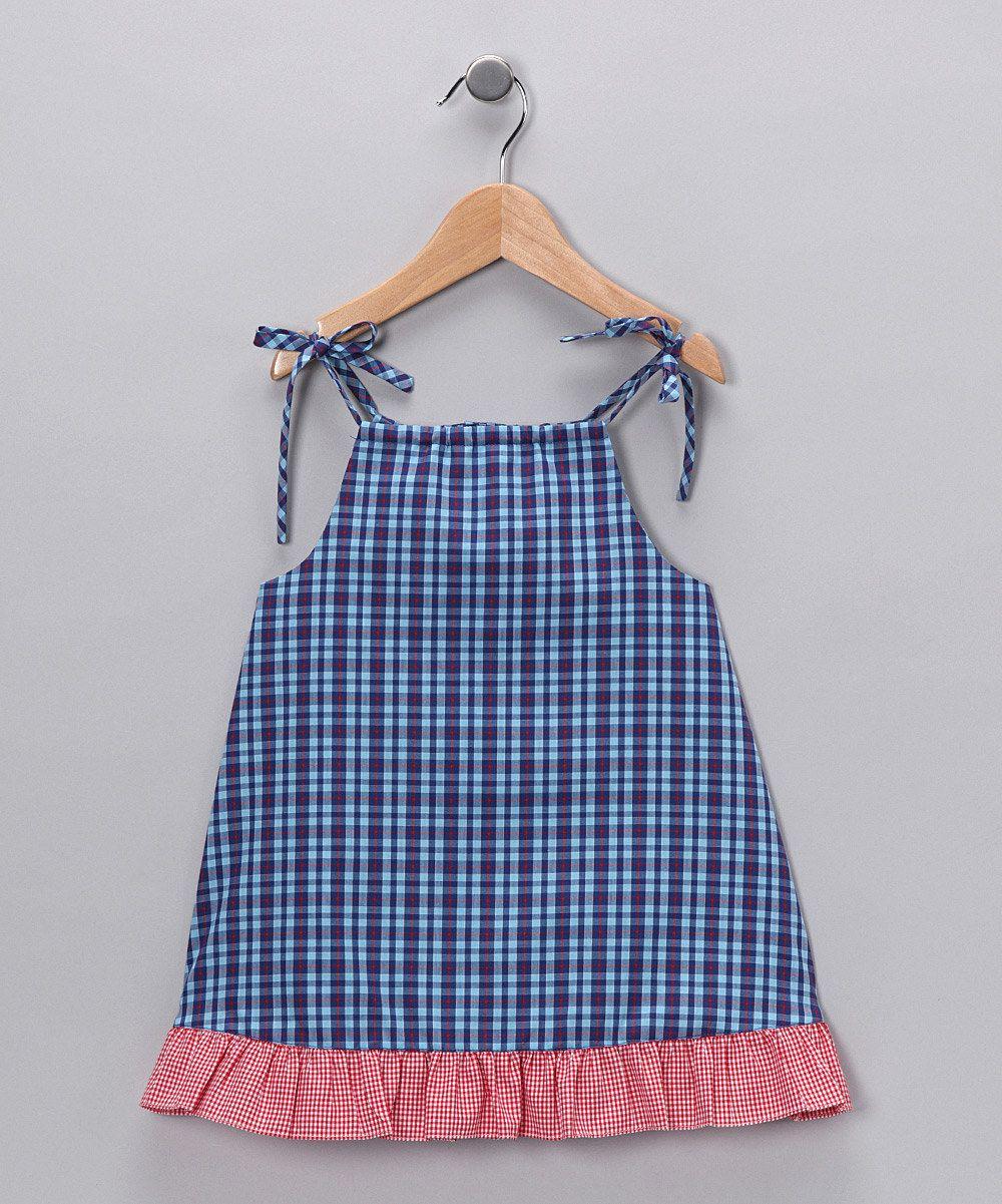 Royal & Pink Dress - Toddler & Girls