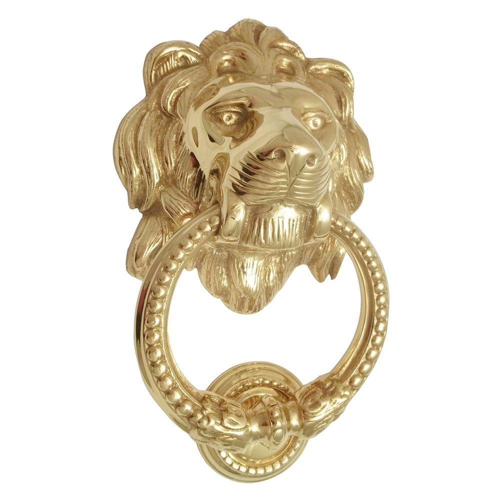 Shop mayer mill brass lk lion head door knocker at the mine