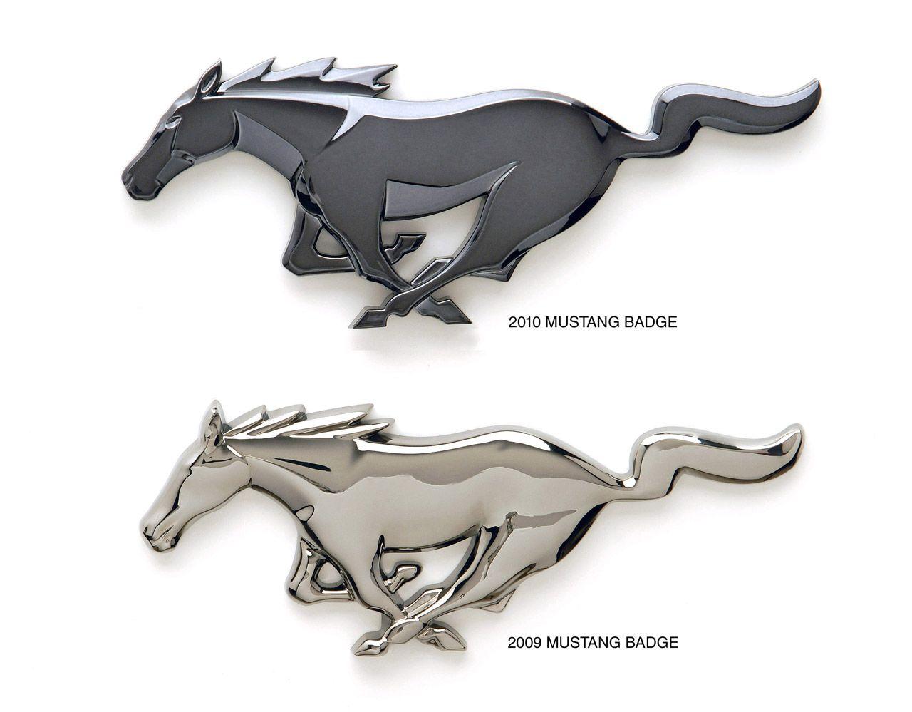 Ford Mustang Logo Vs Ferrari Logo