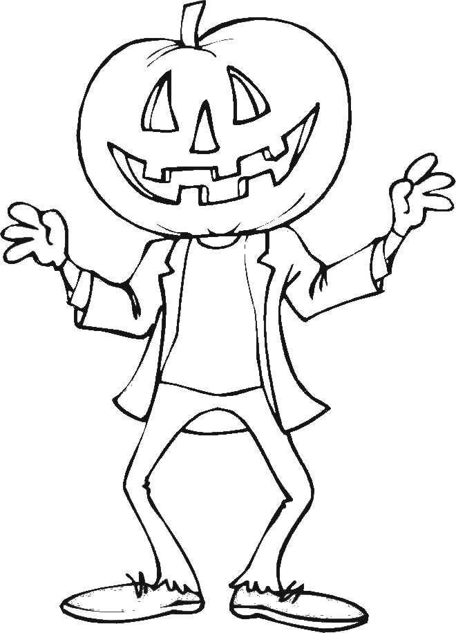 Planse De Colorat Pentru Copii Halloween Coloring Pages