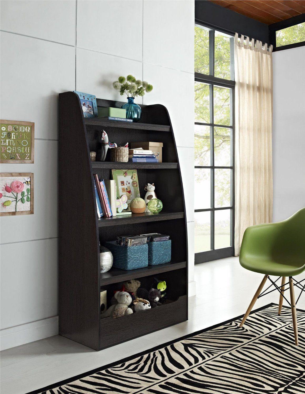 Altra Furniture Kids 4 Shelf Bookcase In Espresso Finish Amazonca Home