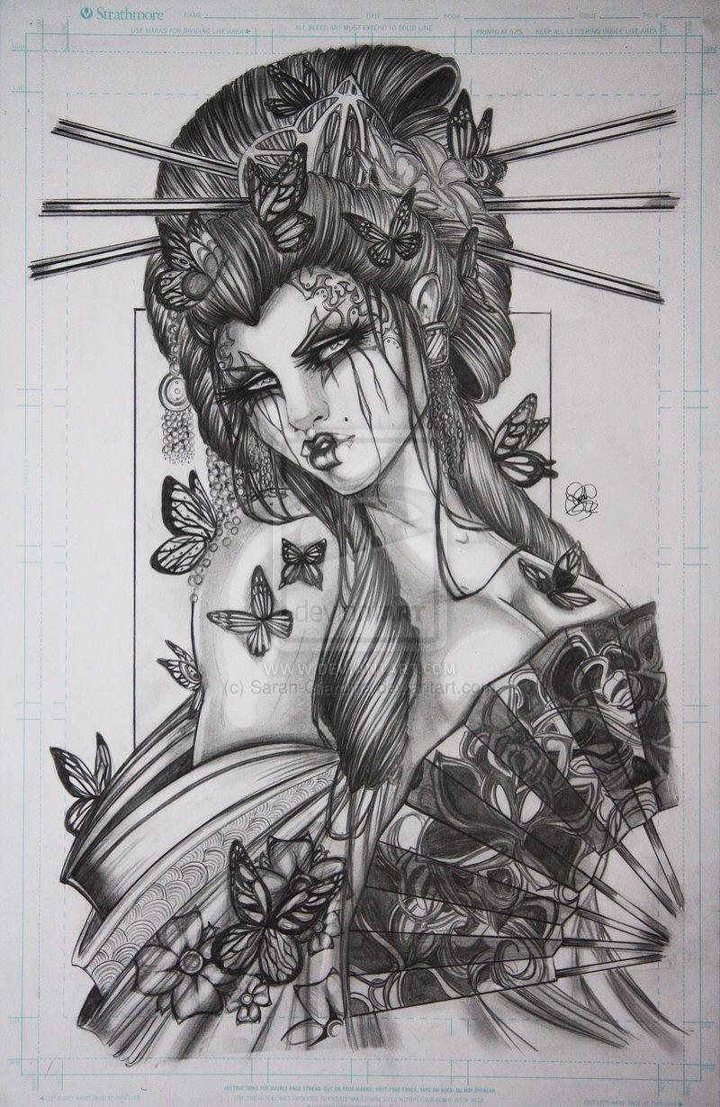 Tattoo Idea Love Japanese Geisha Tattoo Japan Tattoo Oriental