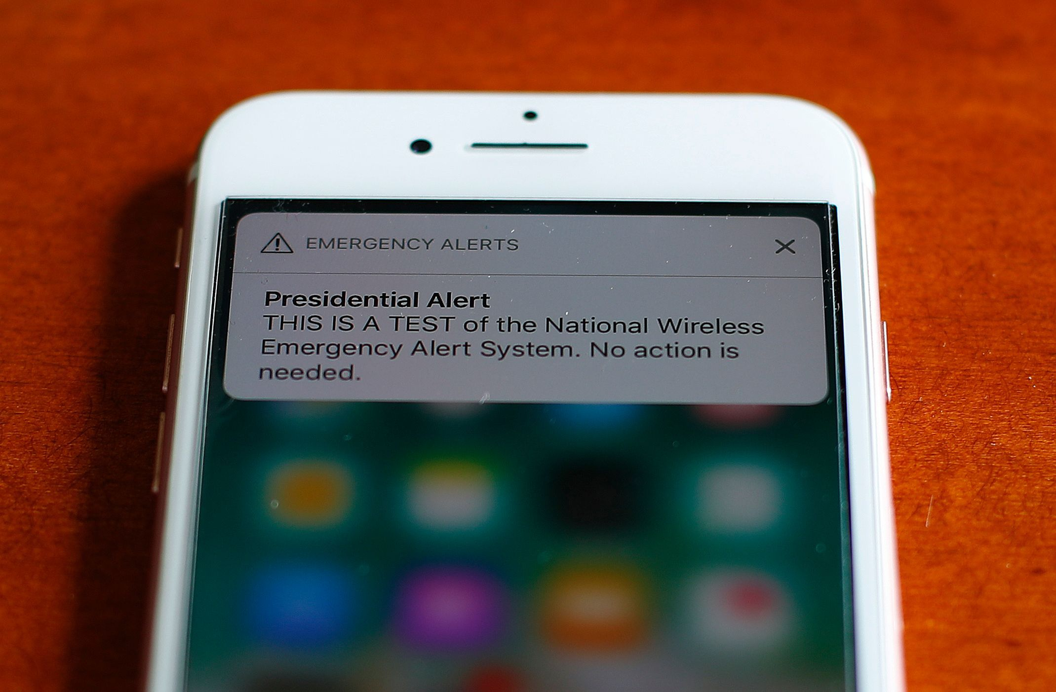 You Can T Turn Off A Presidential Alert But You Can Turn Off Other Emergency Notifications Emergency Presidential Emergency Alert System