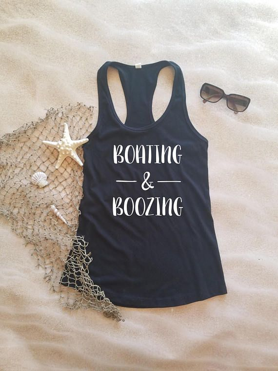 a527fccbc7697 Fun boating and boozing shirt