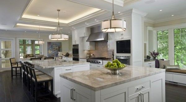 Best Alternatives To Marble Kitchen Countertops Hometone Via Houzz