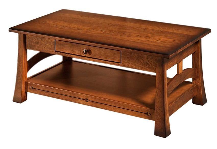 Amish Brady Large Coffee Table Derevenskaya Mebel Mebel