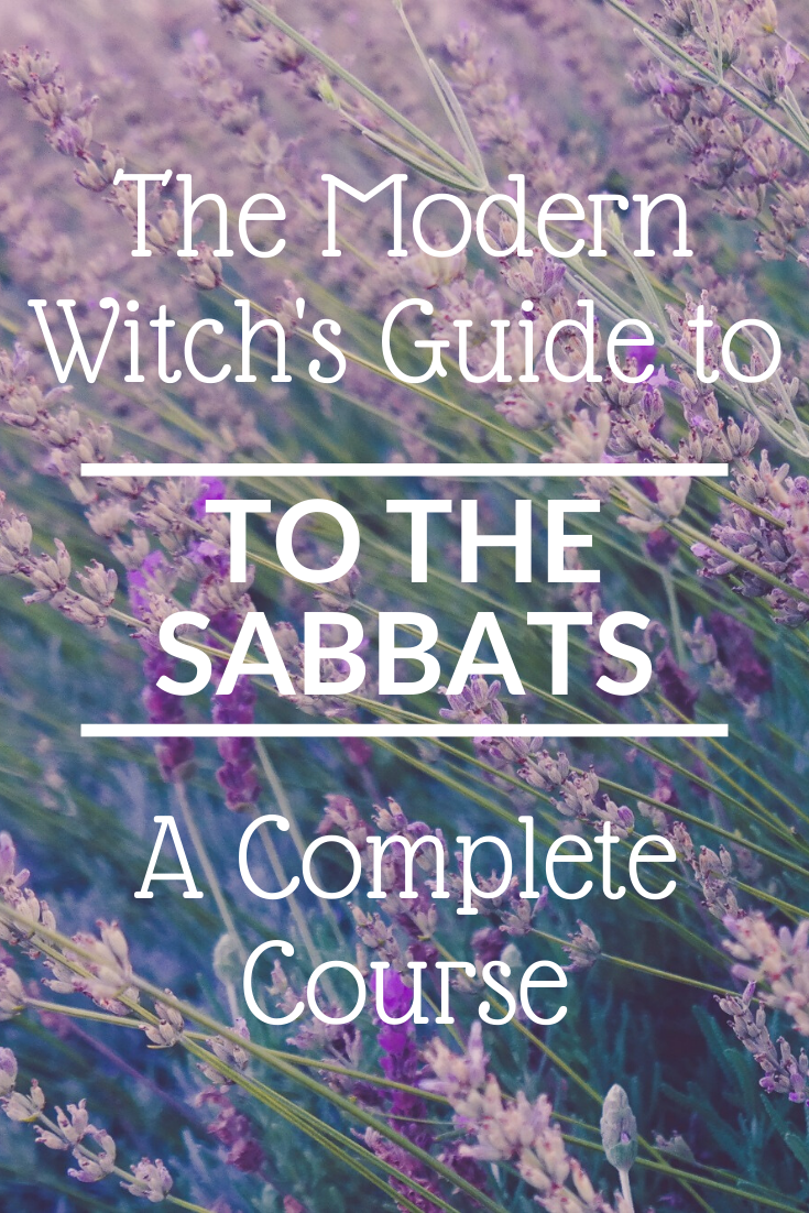 The Modern Witch's Guide to The Sabbats - A Complete Course You will learn to celebrate the sabbats, or witches' holidays, all year long. The sabbats include Imbolc, Ostara (the spring equinox), Beltane, Litha (the summer solstice), Lammas, Mabon (the autumn equinox), Samhain and Yule (the winter solstice). These sabbats honor the cycles of nature and may be some of the most magickal days of the year! #modernwitch The Modern Witch's Guide to The Sabbats - A Complete Course You will learn to cele #autumnalequinox