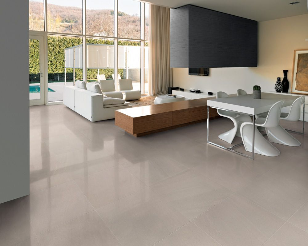 A Big Surface Covered By The Same For Ever Rock Colour But In Different Finishes Floor Tiles Inside