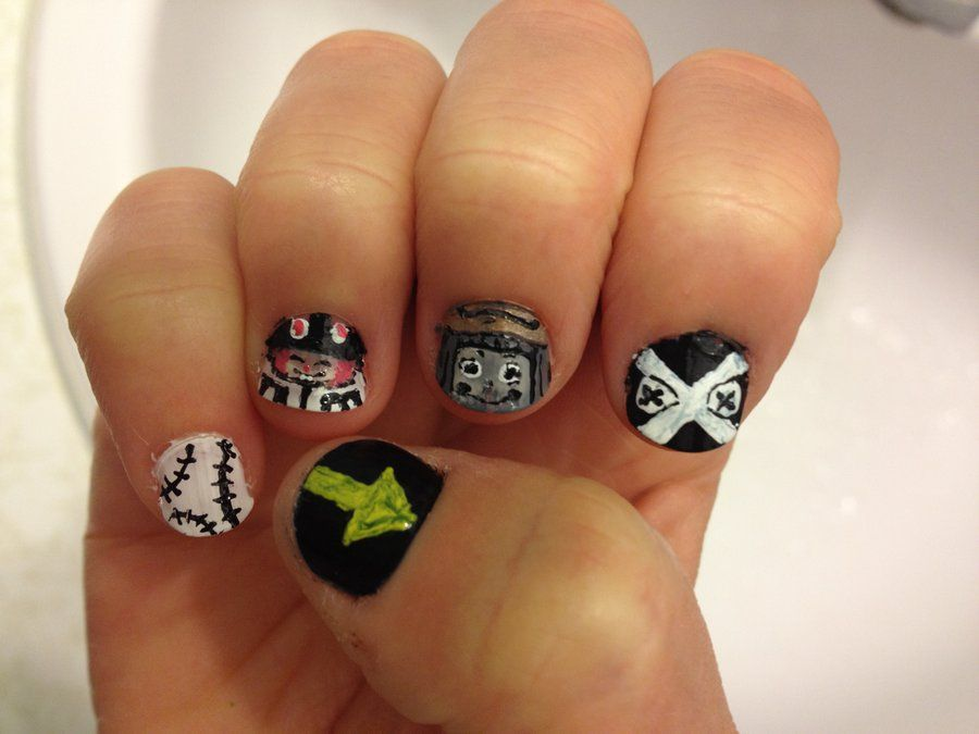 Soul Eater Nails 1 By Imaginebeyondreality On Deviantart