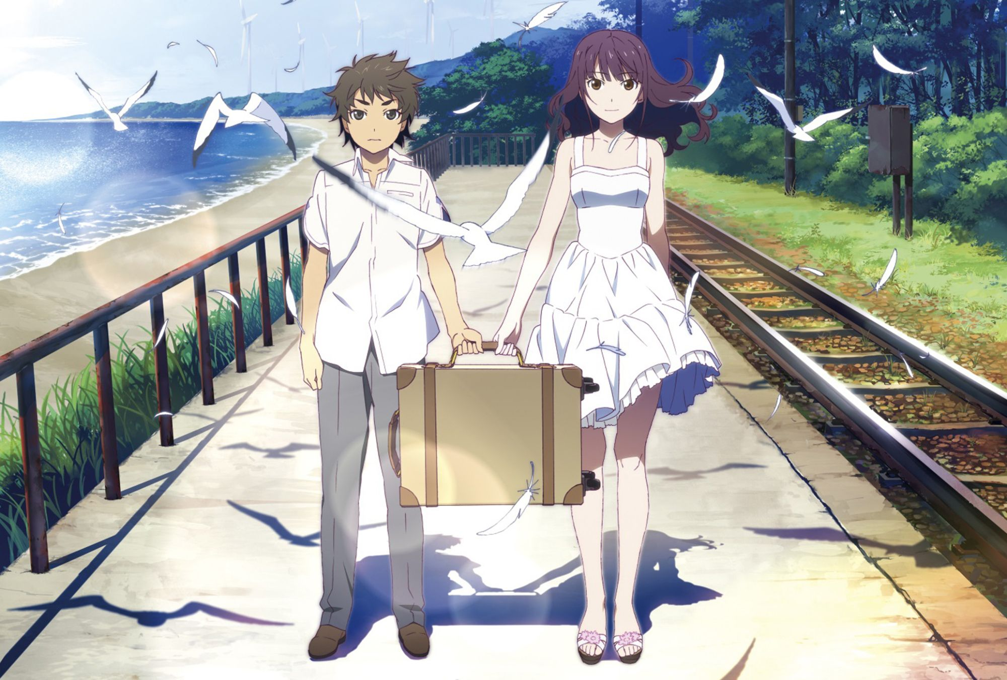 Fireworks Anime Films Anime Best Romance Anime Fireworks anime hd wallpaper
