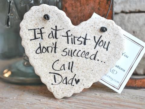 father s day gift salt dough hanging ornament cookiedoughcreations