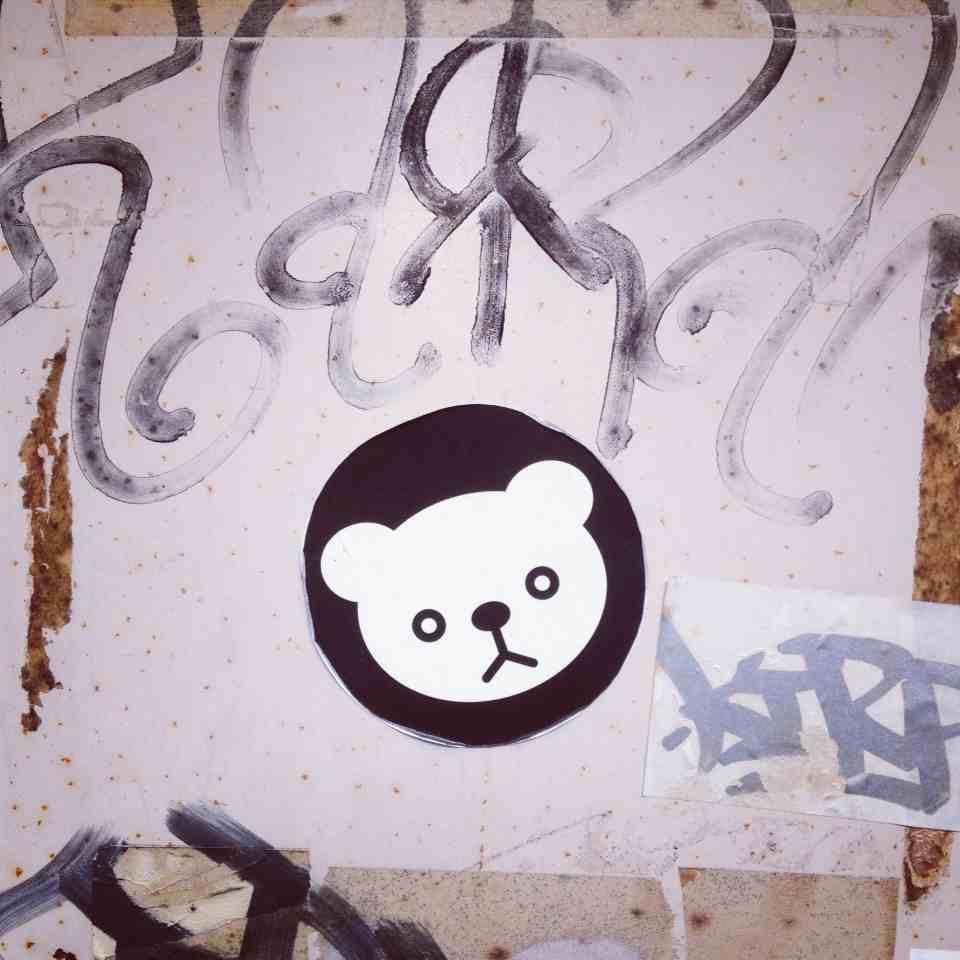 Graffiti wall tokyo - Panda Tokyo Shibuya Street Art And Stickers Graffiti