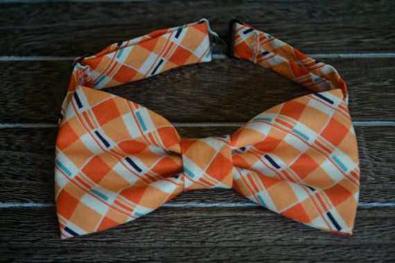 Check out these bow ties & headbands! Made with love by my super talented sis @agoodban! Get 'em! Orange Bow Tie Little Boys Bow Tie Orange Bow Tie by BrileyBean, $10.00