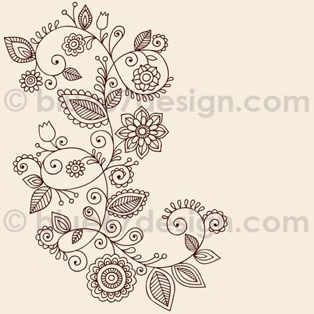 Floral side tattoo
