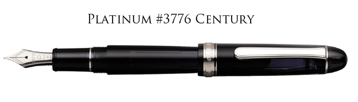 Platinum #3776 Century. Perfect performance, perfect shape, perfect style, a GREAT pen.