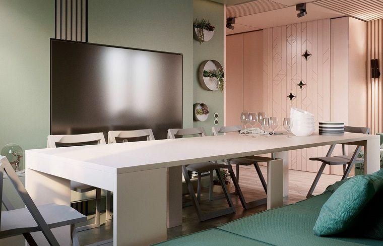 Tavolini Da Salotto Che Si Trasformano In Tavoli Da Pranzo.1001 Idee Per Soggiorni Moderni Le Ultime Tendenze Mit