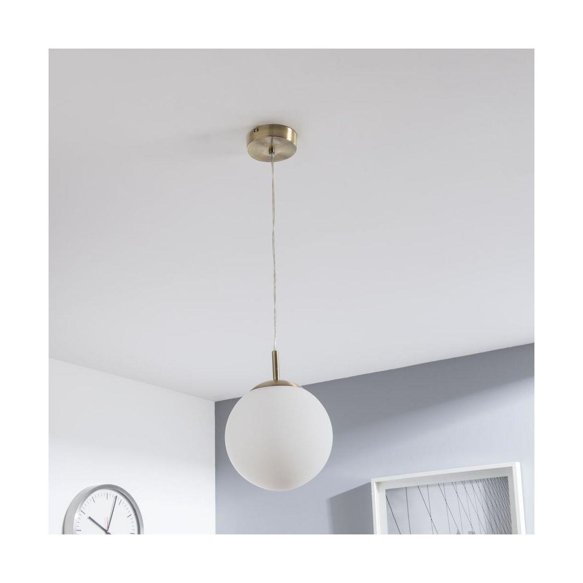 Lampa Wiszaca Celestine Zloto Biala E27 Inspire Zyrandole Lampy Wiszace I Sufitowe W Atrakcyjnej Cenie W Sklepach Leroy Merlin Home Decor Decor Lamp
