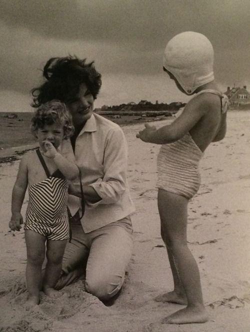 Caroline Kennedy, Jackie Kennedy and Maria Shriver