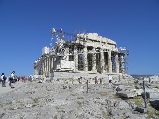 Parthenon--Temple of Athena Parthenos, Athens | Parthenon ...